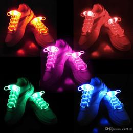 String Shoelaces Australia - 20pcs(15 Pairs) Boys Girls Kids Light Up Led Shoelaces Flash Party Disco Shoe Laces Shoe Strings Free Fashion Stock