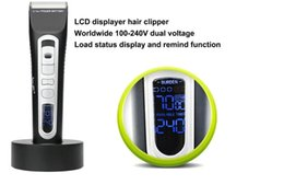 Coupe-cheveux Professionnelle Barbe Pas Cher-Whosale Price Céramique Rechargeable Mens Barbe rasoir coupe-ongles Excellente qualité Professional Creamic Tourmaline Hair Clipper