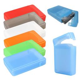 hard drive plastic storage case 2019 - Durable 3.5 Inch Hard Drive IDE SATA Full Case Protector Storage Box Plastic High Quality