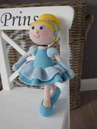 Woolen Toys Canada - Cute Doll DIY 25 cm high Pumpkin Doll crochet toy amigurumi tutorial Doll Children's gifts customize