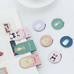 $enCountryForm.capitalKeyWord Canada - 2 pcs pack We Are Animal Family Magnet Bookmark Paper Clip School Office Supply Escolar Papelaria Gift Stationery
