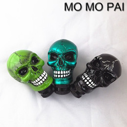 $enCountryForm.capitalKeyWord Canada - HOT MT car styling gear shift knob shift lever skull universal fit for MAZADA BMW TOYOTA SKODA HONDA VW BENZ