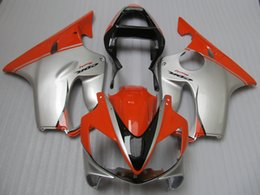 $enCountryForm.capitalKeyWord Australia - Injection molded ABS plastic fairing kit for Honda CBR600 F4I 01 02 03 silver red fairings set CBR600F4I 2001-2003 OT21