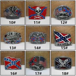 Modebälten BucklesAmerican Flags Eagle Män Bälte Buckles Vintage Skull Cross Star Flag Rectangle BeltBucklec009