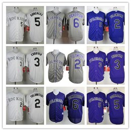 1676ca3f6a9 ... Mens Colorado Rockies Jerseys MLB 2 Troy Tulowitzki 3 Michael Cuddyer 5  Carlos Gonzalez 6 Corey ...