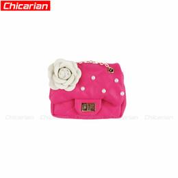 8a262ab6ec Chicarian Designer Beads Flower Toddler Purse Kid Messenger bag Baby Mini Bags  Child Cute Kids Purse PU leather crossbody Bag Fashion CA012