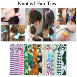 $enCountryForm.capitalKeyWord Canada - 2017 Girls Women Glitter Knotted Hair Ties Elastic Pony Hair Holders Gum For Hair Scrunchy Polka Dots Chevron Camo Zebra Printing