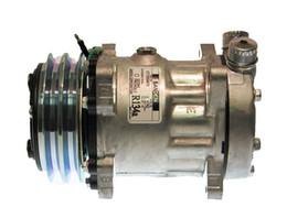 Wholesale factory direct sale auto air conditioning compressor for Sanden SD7H15 4743 ROT Vertical 125mm-2G 24V
