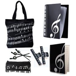 $enCountryForm.capitalKeyWord Canada - Students Music Art Students Study Set Music Stationery Set School Study Set Black 6 Kinds