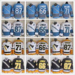 ad7de20b ... 2016 Stanley Cup Champions Stitched NHL Jersey NFL Men Pittsburgh  Penguins Vintage CCM 87 Sidney Crosby 71 Evgeni Malkin 66 Mario Lemieux  Light Blue ...