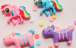 Wholesale Unicorn Flatback DIY Craft Charm for DIY Phone Decoration Cellphone Case Resin Accessary Lovely