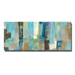 $enCountryForm.capitalKeyWord UK - Free shipping hand painted abstract home goods oil painting rectangular abstract painting for bedroom acrylic artist paint