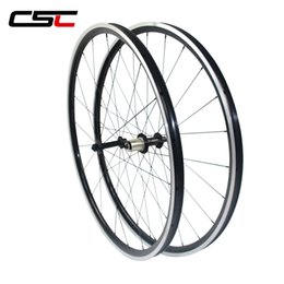24 bicycle wheelset online shopping - 700C kinlin XR26T mm Wide Tubuless mm Depth Clincher Alloy Bike Wheels hole weave Bicycle Wheelset R13 Hub