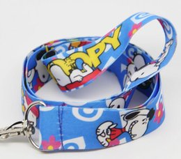 Chinese  New 10pcs cartoon snoopy Phone key chain Neck Strap Keys Camera ID Card Lanyard Free Shipping PO030 manufacturers