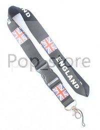 Chinese  About the BLIND ENGLAND's Rice flag combination cell phone neck strap key chain neck strap Lanyard black. manufacturers