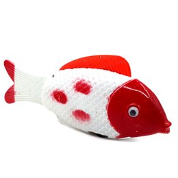 Electric Riding Toys UK - The electric rocking fish stall selling toys are flashing luminous electric sounding toys