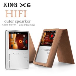 Tft Speakers NZ - Wholesale- ONN X6 8GB Professional lossless music mp3 hifi music player with TFT screen support APE FLAC ALAC WAV WMA OGG MP3 format