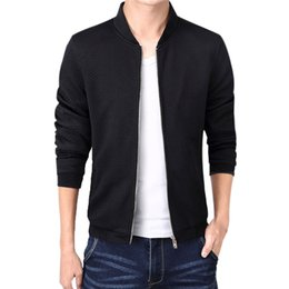 $enCountryForm.capitalKeyWord NZ - Wholesale- 2017 New Fashion Brand Jacket Men Trend Korean Style Slim Fit Mens Designer Clothes Zipper Casual Male Jacket Solid Casaco D7