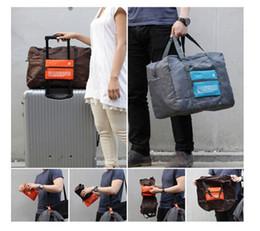 4 Farben Faltbare Nylon Koffer Handgepäck Kabine Kleine Räder Reise Falttasche Große Kapazität Fall Reisetasche Handtasche ak056