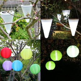 Seven color light online shopping - lantern lamps Seven color lantern hallowmas lighting IP55 outdoor lights RGB lantern light park lights chinese lanterns solar lights