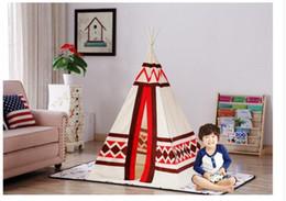 $enCountryForm.capitalKeyWord Canada - Brand New Cotton Canvas Kids Teepee Tent play tent