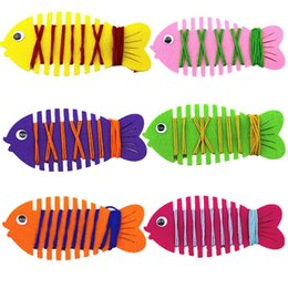 $enCountryForm.capitalKeyWord Canada - 1Pc Colorful Cartoon Animal Fish Toy Patience Thinking Hand Coordination Trainer String Line Around Fish Baby Kids Learning Toys