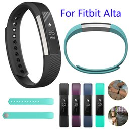 Color Watch Bands Canada - Fitbit Alta Band 18 Color Classic Colors Small   Large TPE Bracelet Strap Replacement Band for Fitbit Alta Smart Fitness Tracker FC0024D18