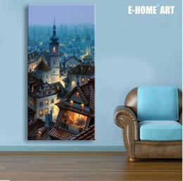 led canvas prints NZ - Wall Art Free Shipping LED Canvas Spray Painting Light Up Framed Artwork Decoration Bedroom   Living Room