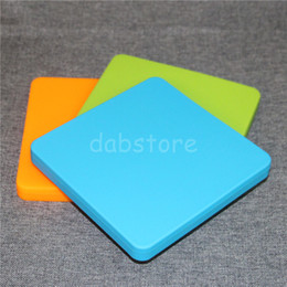 $enCountryForm.capitalKeyWord Australia - Hot Sale 178*178*20 mm Silicone Pizza trays dish super big 200ml silicone deep dishes for BHO oil wax storage silicone containers box DHL