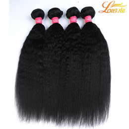 Coarse weave hair extensions online coarse weave hair extensions grade 8a 100 unprocessed mongolian hair afro kinky straight weave extensions 3pcs lot italian coarse yaki human hair weft 3 bundles pmusecretfo Image collections