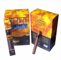 Высококачественная одноразовая сигара 1800 с надписями Электронная сигарета E Cigar с элегантной подарочной блистерной коробкой