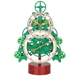 $enCountryForm.capitalKeyWord Canada - Creative clock tree Gear clock Quartz movement promotional gift clock environmental protection material Christmas gifts Household decoration