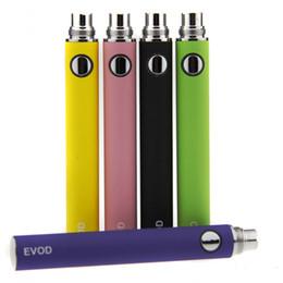 Evod mt3 ElEctronic cigarEttE online shopping - EVOD Battery mah mah mah Rechargeable EVOD Electronic Cigarette Battery thread eCigs Battery for MT3 CE4 CE5 Protank Atomizer