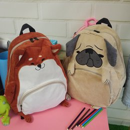 $enCountryForm.capitalKeyWord Canada - Fashion Japanese style women larger capacity corduroy backpack cute cartoon animals backpack high school students bag travel bag