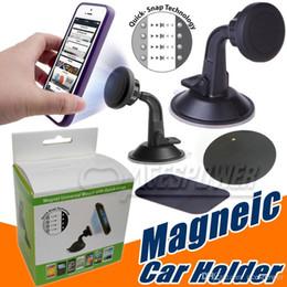 Vente en gros Supports universels magnétiques d'évacuation d'air de support de téléphone de supports de voiture pour la ventouse de voiture de bord de Samsung Galaxy S8 S7 Edge d'Iphone7 plus