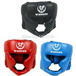 $enCountryForm.capitalKeyWord NZ - Boxing Helmet Closed Type Boxing Head Guard Sparring Mma Muay Thai Kick Brace Head Protection Gear Ha28101110