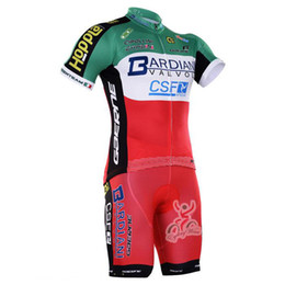 Discount bardiani cycling 2017 BARDIANI cycling jersey bike shorts set Ropa Ciclismo quick dry men cycling wear short sleeve bicycle Maillot Outdo