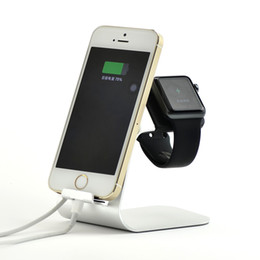 Luxury Aluminum Metal Desktop Charger For Cradle Charge Stand Adapter Charging For iWatch Smartwatch Charging Dock Station on Sale