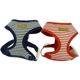 Cloth Dog Harness Collar UK - cotton stars design Puppy Dog mesh Harness Soft Pet Harness Dog Cloth Small Pet Dog Vest Harness