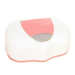 China Wholesale- 1 Pc PP Baby Wipes Palstic Tissue Case Press Pop-up Design Home Garden Children Wet Remove Tissue Canister Care Tool Accessories supplier child care seats suppliers