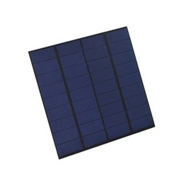 China 100Pcs Lot 3W 9V Polycrystalline Solar Cell Panel PET+EVA Laminated Solar Cell Size 145*145mm for Test and Research DHL Shipping suppliers