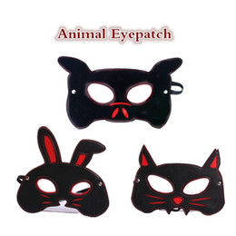 Adult AnimAls sex online shopping - Animal shape blindfold pig cat rabbit three style fetish eyepatch eye mask adult sex toys for women erotic toys adult games