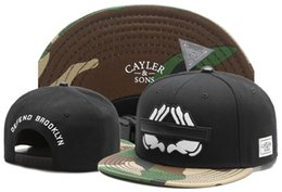 Cayler Sons Cap Brooklyn Snapback UK - New Brand gorras Cayler   Sons  DEFEND BROOKLYN camo 1552c00280d