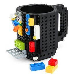 Discount steel buildings - Building Blocks Creative Lego Block Cup Assembling Cups DIY Assembly Tumblerful Coffee Mark Readily Water Glass 14 5rh R