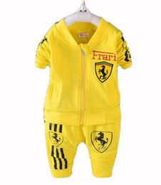 $enCountryForm.capitalKeyWord Canada - Kids Clothes Boys 2017 Baby Boys Autumn Hoodied Coats And Jackets Pants Set Korean Fashion Children Clothing Sports Suit For Boy