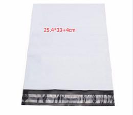 $enCountryForm.capitalKeyWord UK - Self Adhesive Seal Postal Bags 25.4*33+4cm 100pcs Package Envelopes Shipping Strong Poly Mailer Bags Post