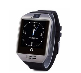 $enCountryForm.capitalKeyWord Australia - Q18 smart watches for android phones Bluetooth Smartwatch with Camera Original q18 Support Tf sim Card Micro Sim with Retail Package Y1 DZ09