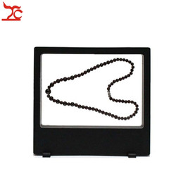 Glass watch display stand online shopping - Retail Multifunctional PET Elastic Membrane Jewelry Display Window Charm Necklace Bracelet Watch Accessories Display Box cm