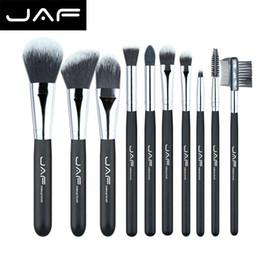 Taklon hair online shopping - Jaf Fashionable Pieces Cosmetic Makeup Brush Set Professional Soft Taklon Fiber Make Up Brushes Tool Kit J10nns
