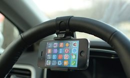 Toptan satış Akıllı Telefonlar İçin Araç Tutucu Stand Braketi (Muks mağazası ödeme)